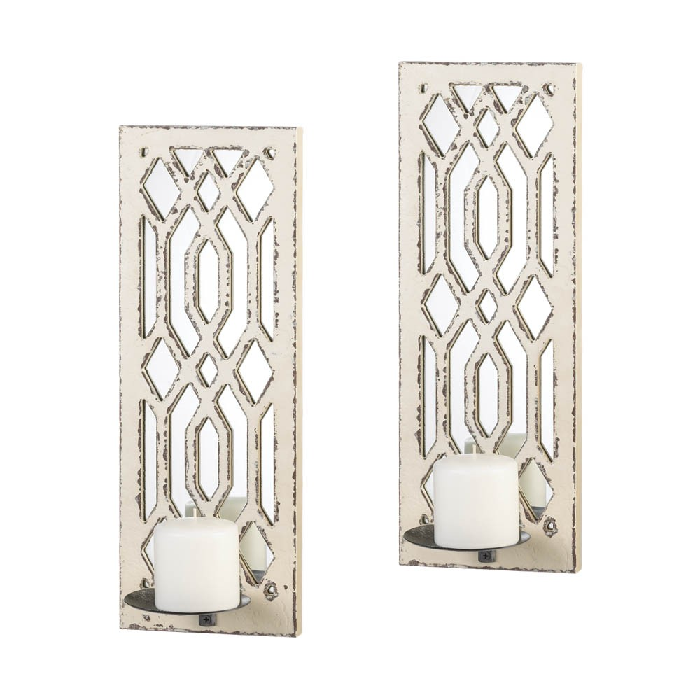 glass large luster base with brown amazon com imax wall dp sconce scroll home mirrored kitchen
