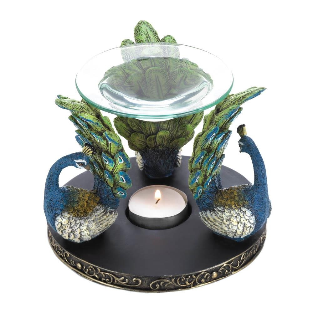 Peacock Plume Oil Warmer Upc 849179027254