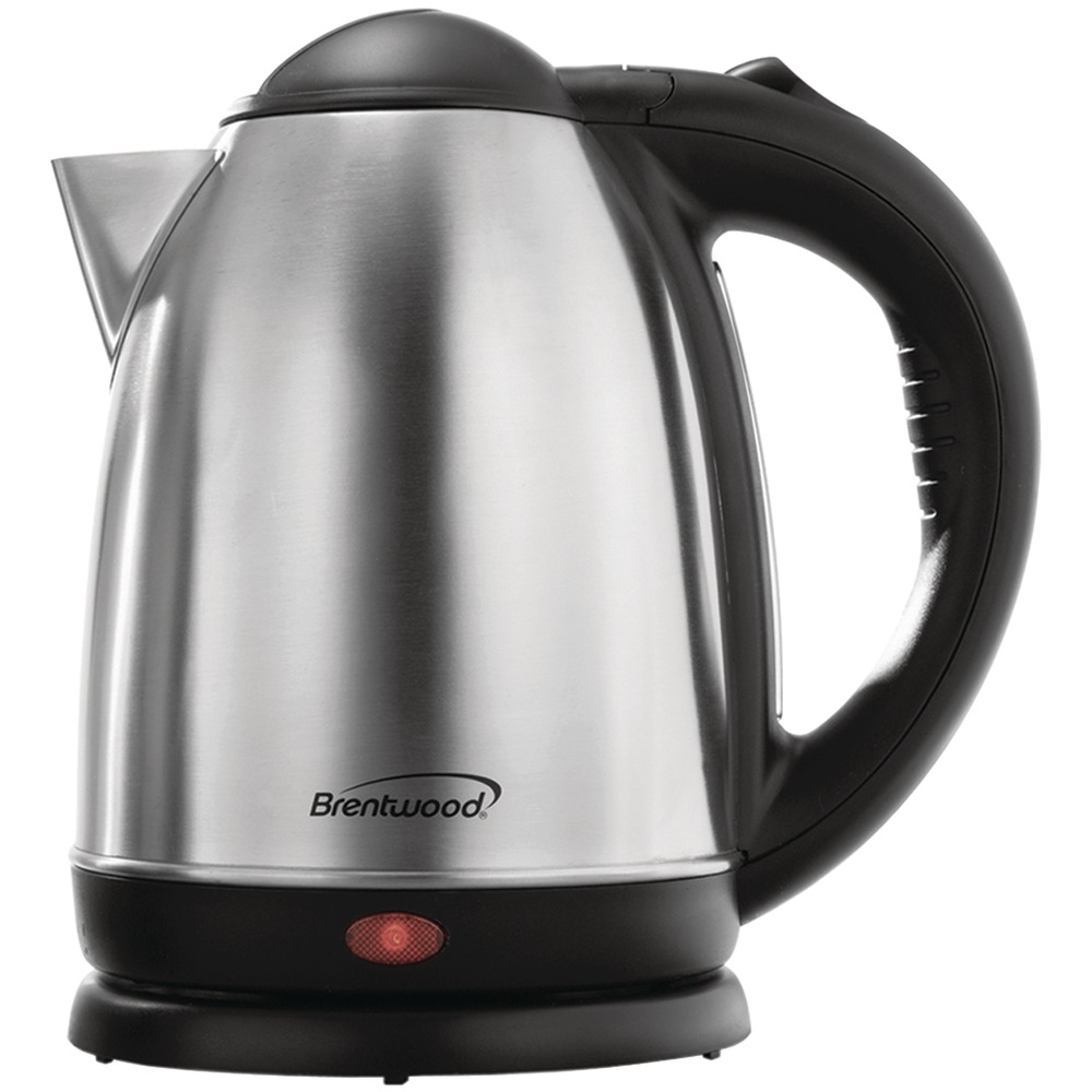 Stainless Electric Kettle ~ Brentwood liter stainless steel electric cordless tea