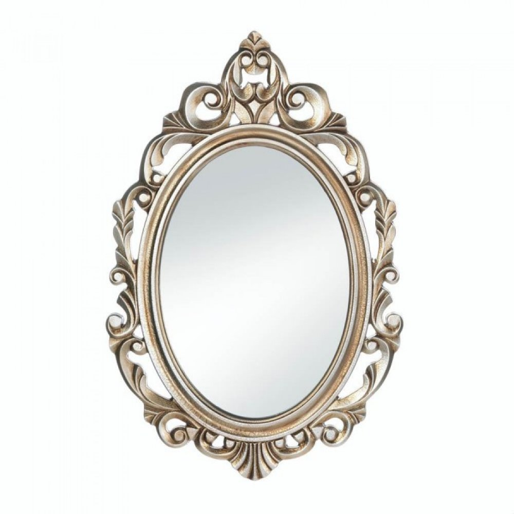 Gold royal crown wall mirror upc 849179032371 for Mirror o mirror