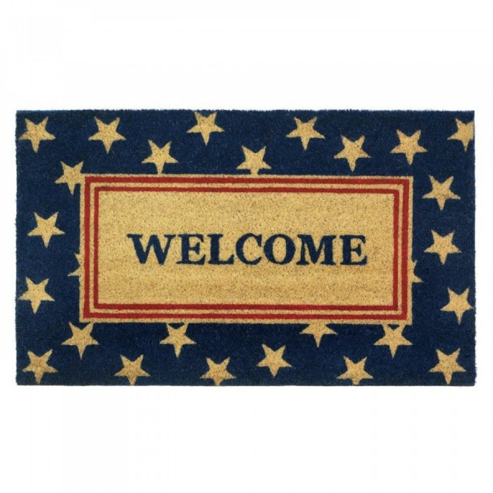 Patriotic Welcome Mat Upc 849179033330