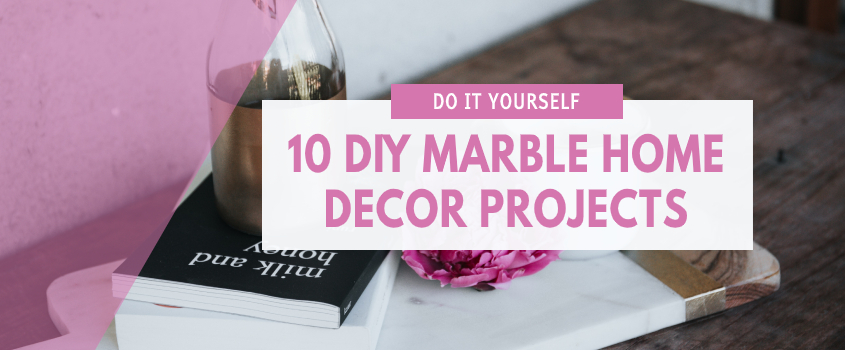 diy marble home decor