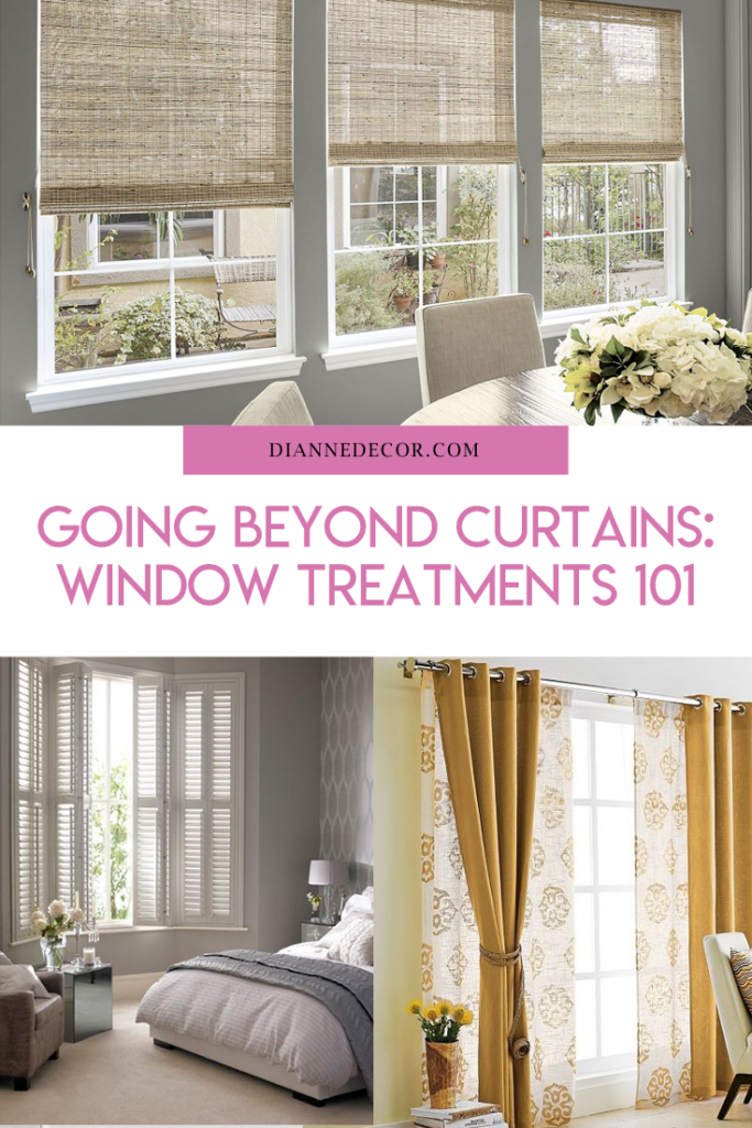 Going Beyond Curtains: Window Treatments 101