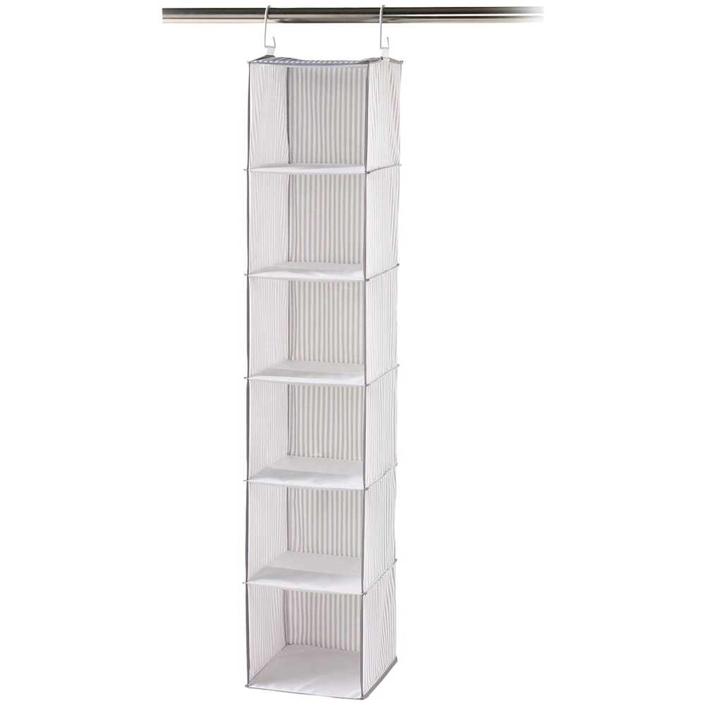 Neatfreak Pixelated Collection 6 Shelf Closet Organizer With Velcro