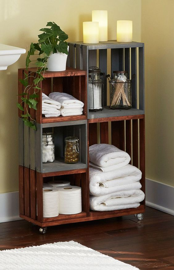 10 Decorative Ways To Display Amp Store Bath Towels