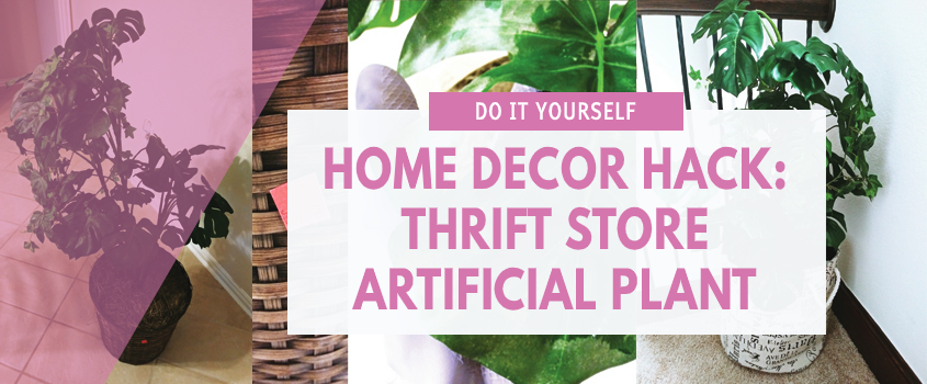 home decor hack thrift store upcycle