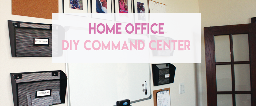 Home Office DIY Command Center Project