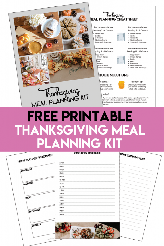 How To Plan Thanksgiving Dinner Like a Pro – Part 2