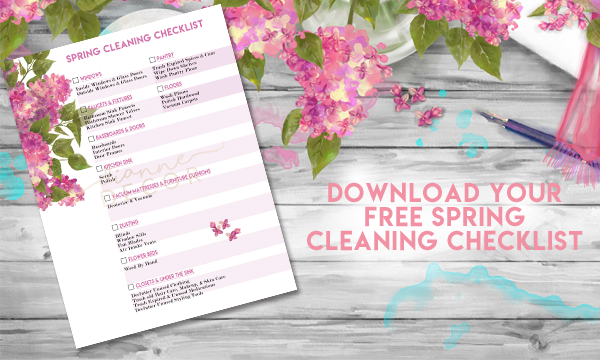 Easy Spring Cleaning Checklist
