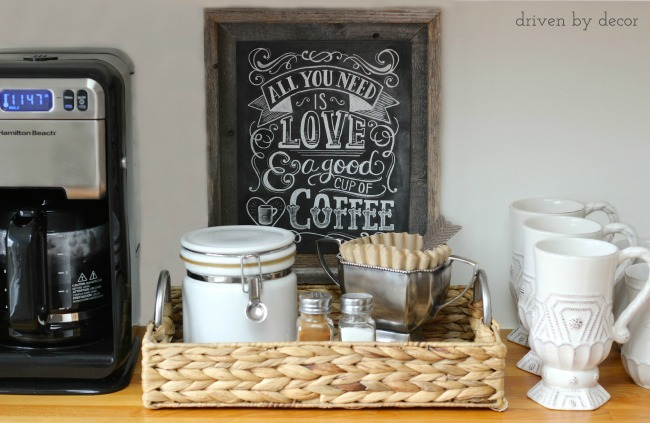 7 DIY Coffee Station Ideas to Start Your Morning