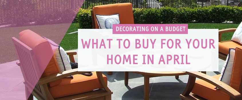 what to buy april