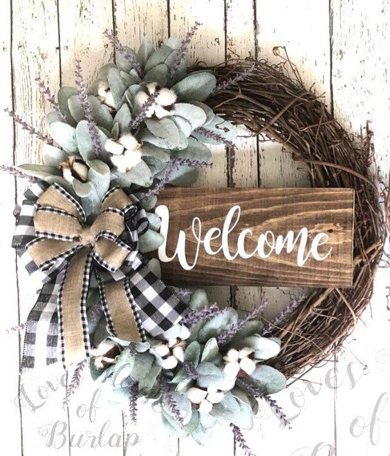 Front Door Wreaths for All Year Round
