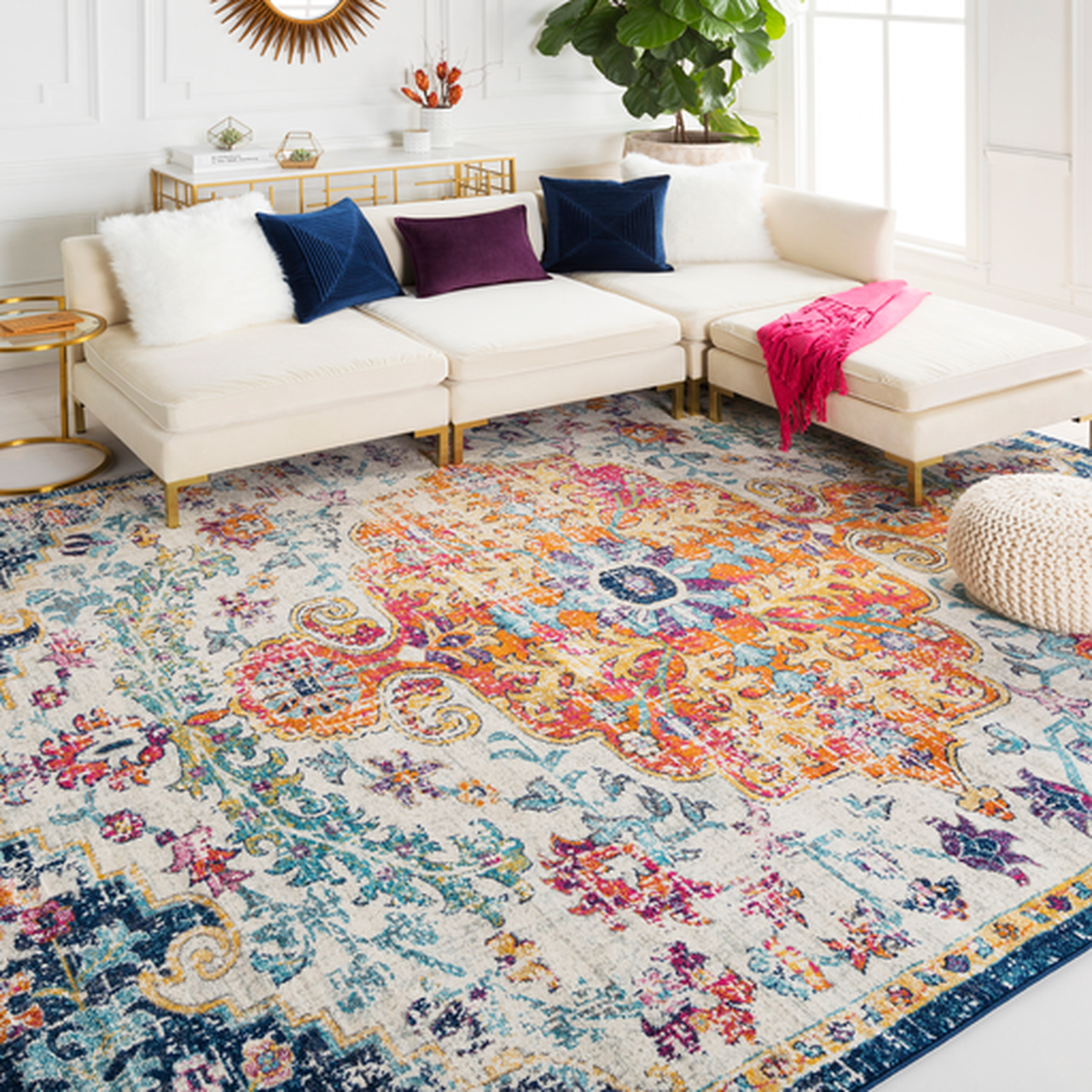 what to buy in july - area rugs