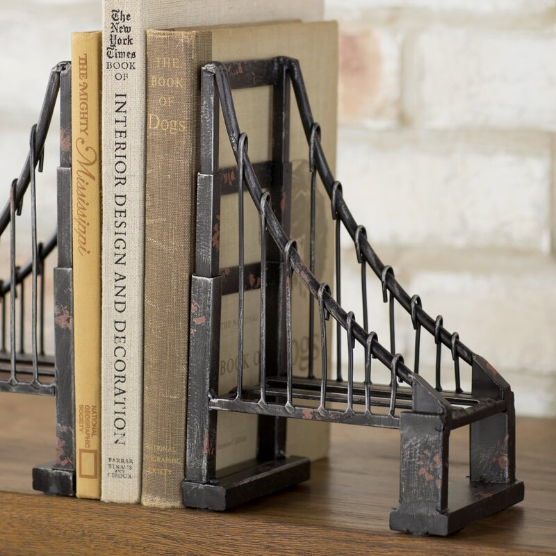 Suspension Bookends (Set of 2)