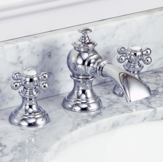 Water Creation Modern Classic Widespread Lavatory Faucet