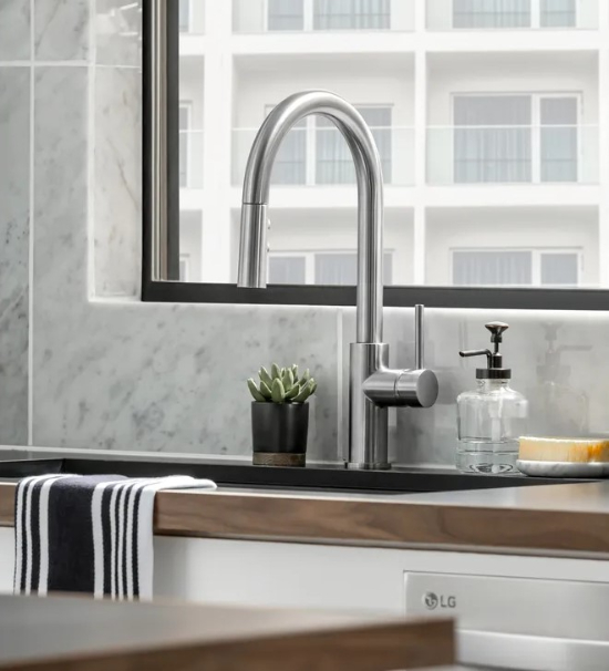 high style kitchen faucet