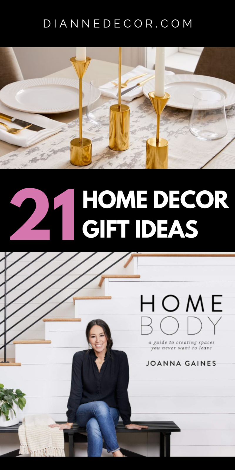 There are so many types and styles of home decor to choose from that it can be overwhelming. Here are 21 home decor gifts that are just right.