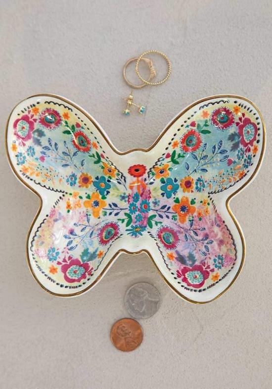 Butterfly Trinket Bowl