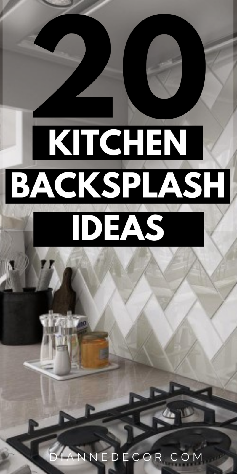 One of the most cost-effective ways to update your kitchen is to look into new kitchen backsplash ideas. Here are 20 to check out.