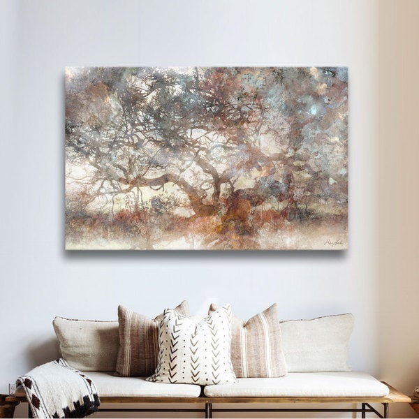 The Gray Barn Roozbeh Bahramali's 'Wisdom Tree' Gallery Wrapped Canvas - 32x48