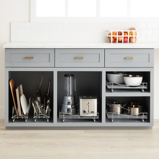 kitchen innovations - pull out cabinet drawers