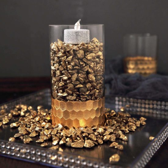 what to put in a glass jar for decoration
