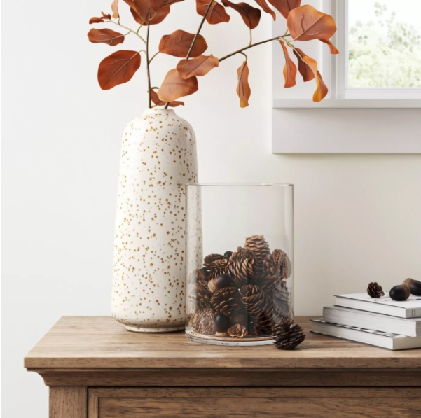 what to put in large glass jar for decoration