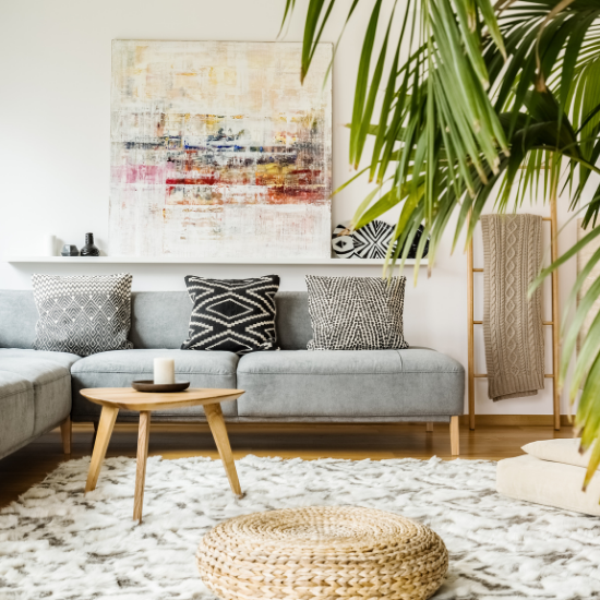 How To Decorate A Living Room With 5 Simple Things