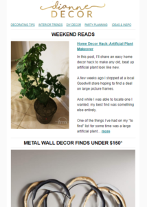 Home Decor Hack: Artificial Plant Makeover + METAL WALL ART ON A BUDGET!