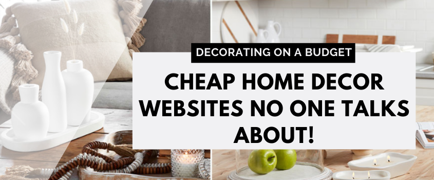 Cheap Home Decor Websites No One Talks About