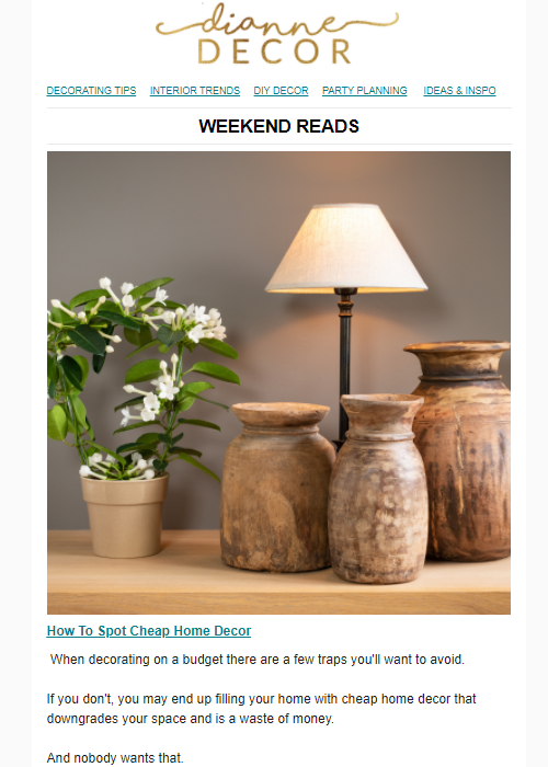 How To Spot Cheap Home Decor