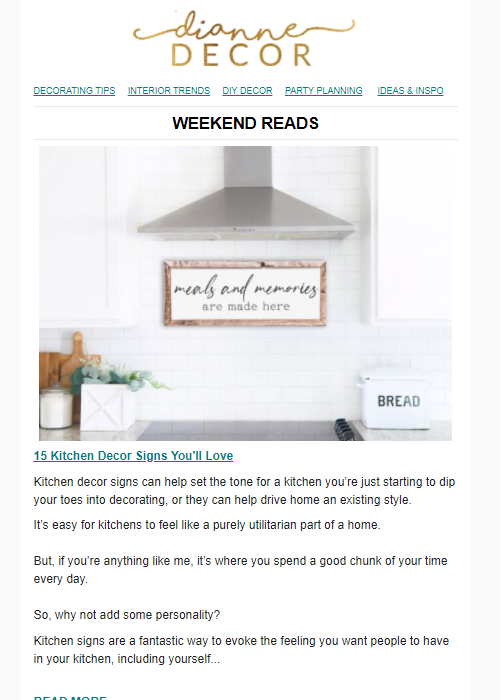 15 KITCHEN DECOR SIGNS YOU'LL LOVE