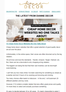 15 Cheap Home Decor Websites No One Talks About