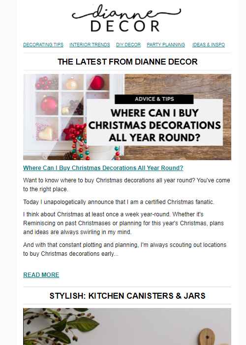 Where Can I Buy Christmas Decorations All Year Round?
