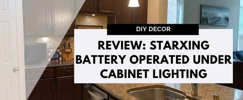 Review: Starxing Puck Lights Battery Operated Under Cabinet Lighting